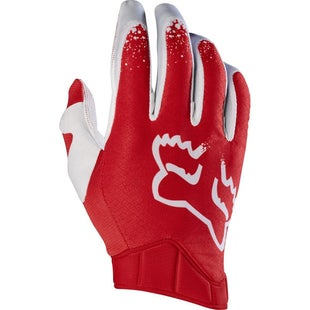 Fox Racing Airline Moth Motocross Gloves - Red