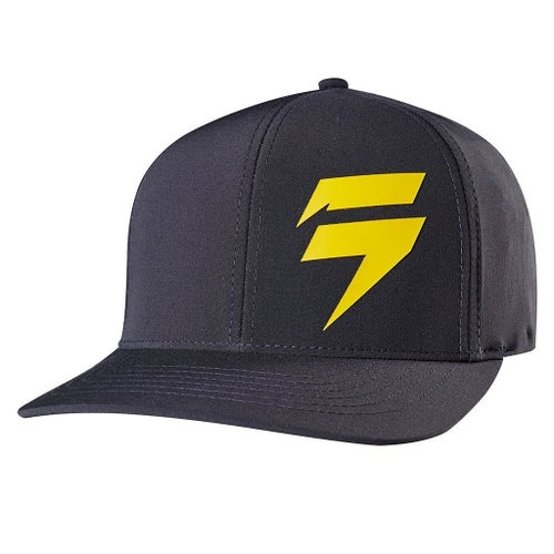 Shift 3LUE LABEL Flexfit Cap - Black and Yellow