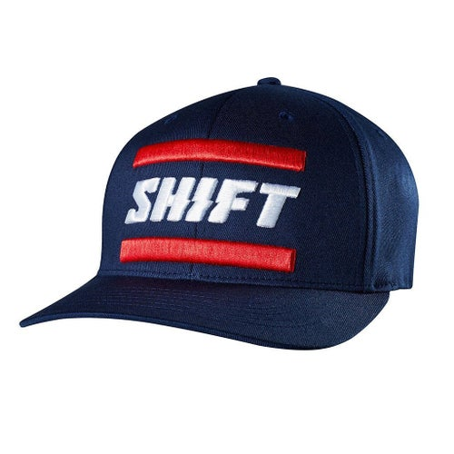 Shift 3LACK LABEL Flexfit Kasket - Navy