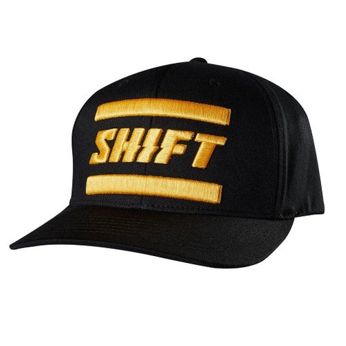 Shift 3LACK LABEL Flexfit Kasket - Black