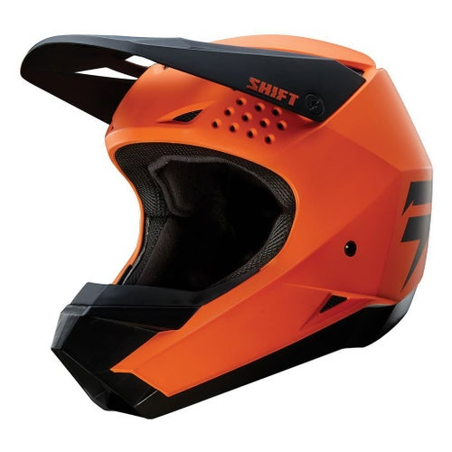 Shift WHIT3 LABEL Motocross Helmet - Orange