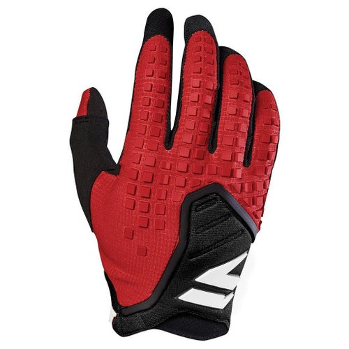 Shift MX 3LACK LABEL Pro Motocross Gloves - Dark Red