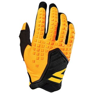 Shift MX 3LACK LABEL Pro Motocross Gloves - Yellow