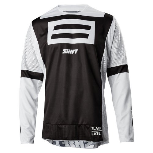 Shift 3lack Label GI Fro 20th Anniversary MX Motocross and End Motocross Jerseys - Black