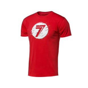 Seven Casual 171 Dot Static Short Sleeve T-Shirt - Red