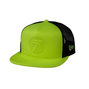 Seven Casual 181 New Era Dot Cap - Fluo Yellow Black