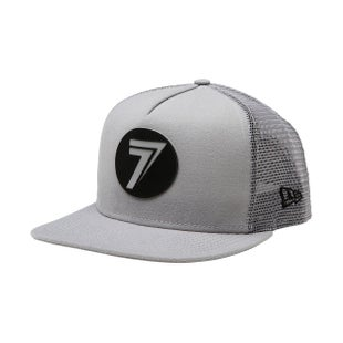 Seven Casual 181 New Era Dot Cap - Gray Black