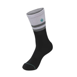 Seven Casual 181 Realm Socks - White Black
