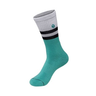 Seven Casual 181 Realm Socks - White Aqua