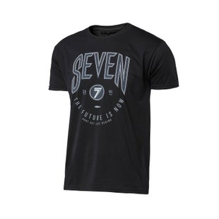 Seven Casual 171 Goth Short Sleeve T-Shirt - Black
