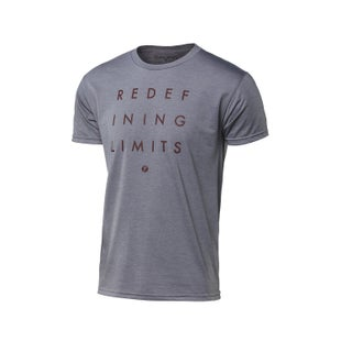 Seven Casual 171 Redefine Short Sleeve T-Shirt - Heather Grey