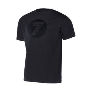 Seven Casual 181 Dot Short Sleeve T-Shirt - Black Black