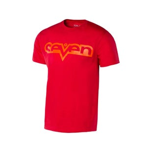 Seven Casual 181Brand Boys Short Sleeve T-Shirt - Red Red