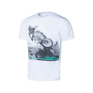 Seven Casual 181 GetIt Short Sleeve T-Shirt - White