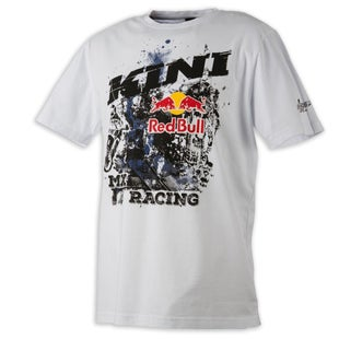 Kini Red Bull Underworld Short Sleeve T-Shirt - White
