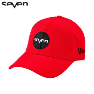 Seven Casual 171 New Era Sport Stretch Fit Cap - Red