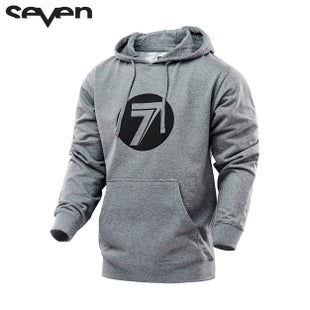 Seven Casual 162 Boys Pullover Hoody - Dot Gray Heather