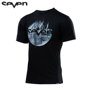 Seven Casual 171 Outer Limits Short Sleeve T-Shirt - Black