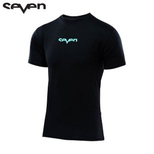 Seven Casual 171 Saturn Short Sleeve T-Shirt - Black