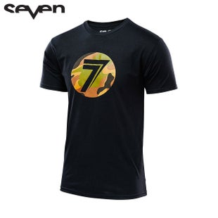 Seven Casual 162Tee Short Sleeve T-Shirt - Dot Black Soilder