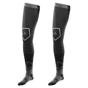 Leatt MX and Enduro Pair Knee Brace Socks - Black