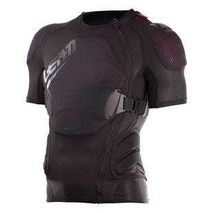 Protection pour Torse Leatt 3DF Airfit Lite Body Protector MX Motocross and Enduro Tee - Black