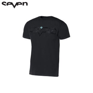 Seven Casual 181 YOUTH Brand Short Sleeve T-Shirt - Black Black
