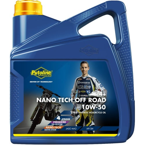 Putoline Nano Tech Or 4+ 10w/50 4 Ltr Engine Oil - Clear