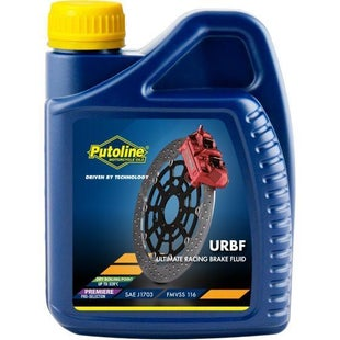 Brake Fluid Putoline Urbf 500 Ml - Clear