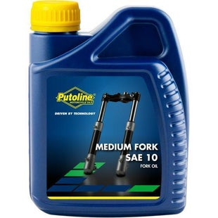 Fork Oil Putoline Medium Fork Oil 500 Ml - Clear