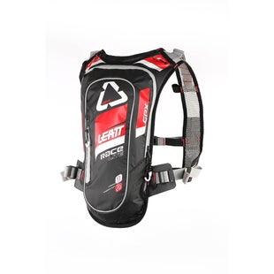 Leatt GPX Race HF 20 Hydration Backpack Hydration Backpack - Red Black