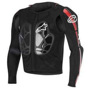 Alpinestars Bionic Pro Jacket Torso Protection - Black Red White