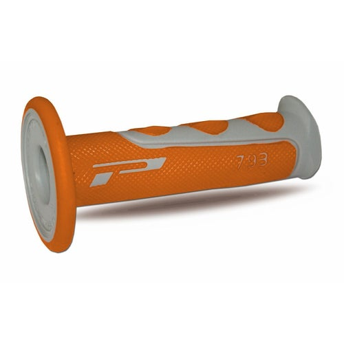 MX Handlebar Grip Pro Grip 793 - Grey Orange