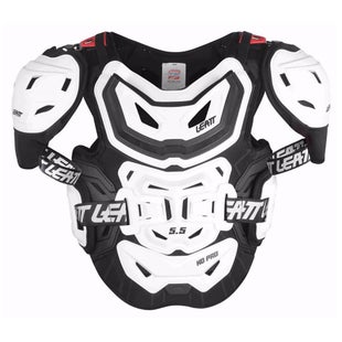 Leatt 5.5 Pro HD MX Motocross and Enduro Chest Protection - White