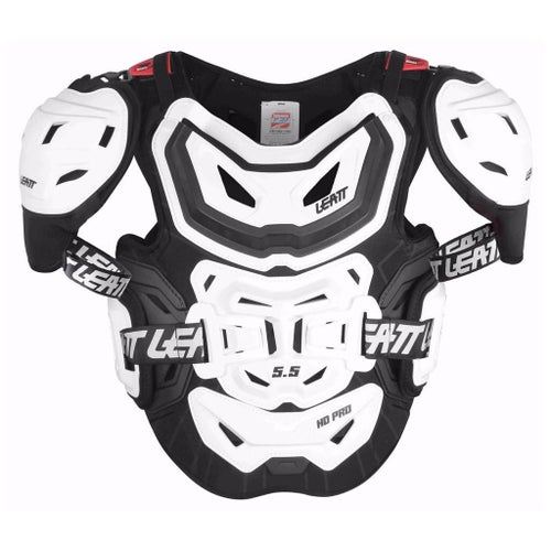 Chest Protection Leatt 5.5 Pro HD MX Motocross and Enduro - White