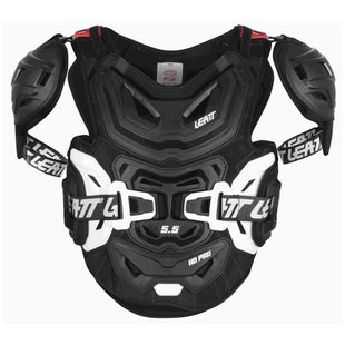 Leatt 5.5 Pro HD MX Motocross and Enduro Borstbescherming - Black