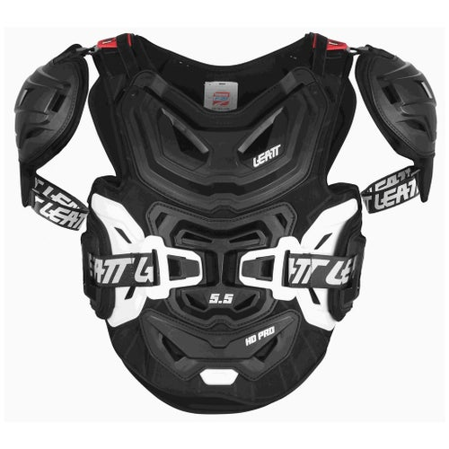 Leatt 5.5 Pro HD MX Motocross and Enduro Chest Protection - Black