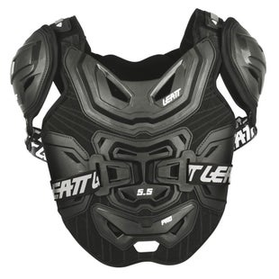 Leatt MX and Enduro 5.5 Pro Borstbescherming - Black