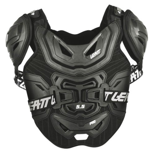 Leatt MX and Enduro 5.5 Pro Chest Protection - Black