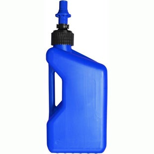 Tuff Jug 20 Litre Motocross and Enduro inc Ripper Valve , Fuel Can And Refueling - Blue