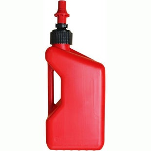Tuff Jug 20 Litre Motocross and Enduro inc Ripper Valve , Fuel Can And Refueling - Red
