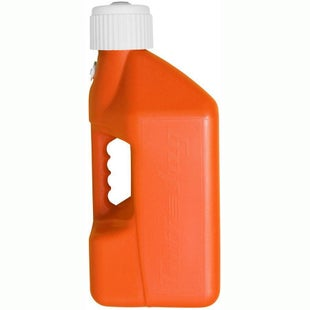 Tuff Jug 10 Litre Motocross and Enduro ReFuelling Can and Cap Only Fuel Can And Refueling - Orange