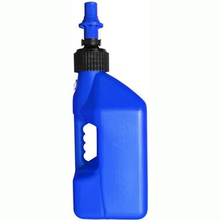 Tuff Jug 10 Litre Motocross and Enduro ReFuelling Can inc Ripper Valve Fuel Can And Refueling - Blue