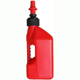 Tuff Jug 10 Litre Motocross and Enduro ReFuelling Can inc Ripper Valve , Fuel Can And Refueling - Red