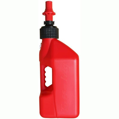 Tuff Jug 10 Litre Motocross and Enduro ReFuelling Can inc Ripper Valve Fuel Can And Refueling - Red