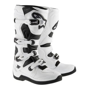 Botas MX Alpinestars Tech 5 - White Black