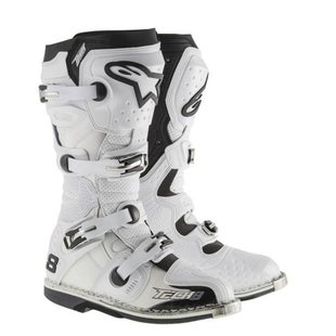 Botas MX Alpinestars Tech 8 RS - White Vent