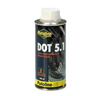 Brake Fluid Putoline Dot 5.1 Brake Fluid 500 Ml - Clear