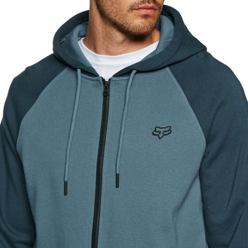 Fox Racing Legacy Zip Hoody - Blu Stl