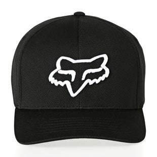 Fox Racing Lithotype Flexfit Cap - Blk